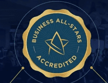 Topform are Business All-Stars Accredited