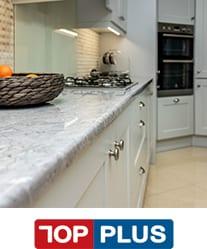 TopPlus premium range of laminate kitchen worktops