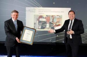 Topform National Small Business Awards Winner